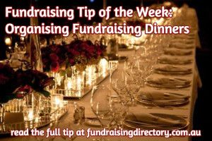 TOW fundraising dinners