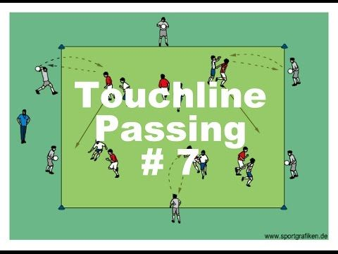 Advanced Soccer Passing Drills And Exercises - YouTube