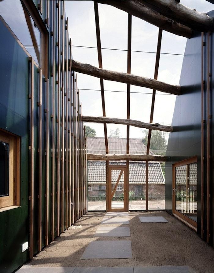 Interior of Glass Extension at a Farmhouse in Zutphen, Netherlands: Architecture Farmhouse, Idea, Window, Architecture Interiorspaces, Search, Farmhouse Design, Children, Wolzak Farmhouse, Extensions