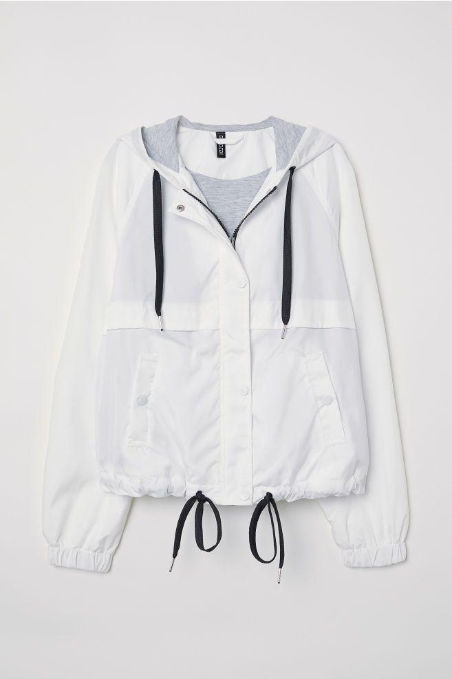 Hupullinen takki - Valkoinen - NAISET  0f20d57058