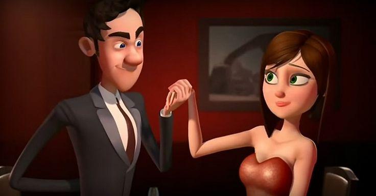 Cerebro Dividido:  ¿Qué piensa un hombre cuando esta con una chica?