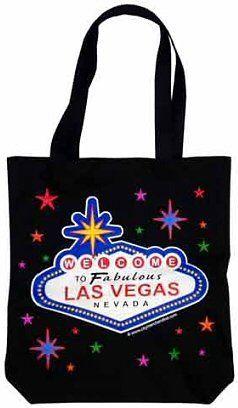 Las Vegas Tote Black Stars Bags Souvenirs By