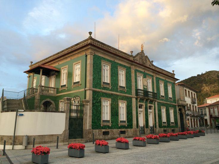 Casa senhorial em Vila Nova de Cerveira, Portugal. Photo by NuCeu Alves