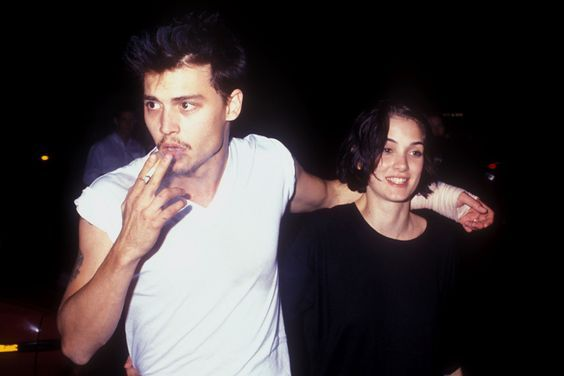 Icone-de-style-Johnny-Depp-winona-ryder: