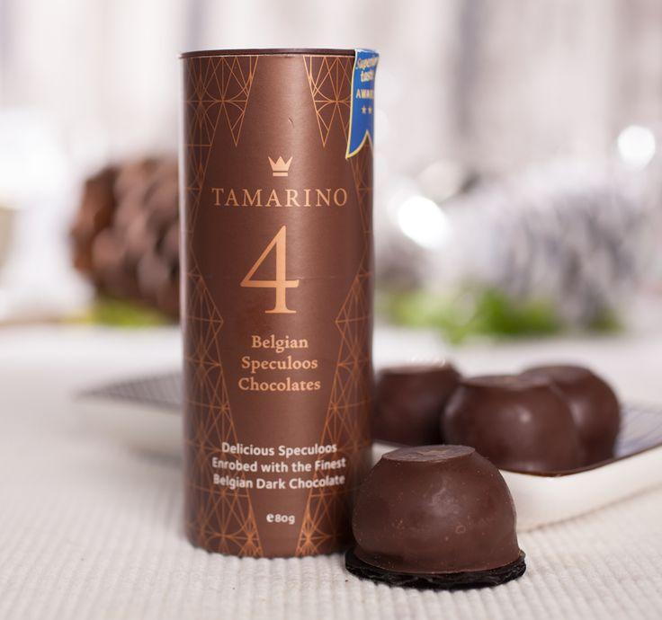 Es weihnachtet sehr in den Küchen von Tamarino! In der einen Hand feine edelbittere belgische Schokolade, in der anderen die Packung Spekulatius. In das Päckchen kommen sorgfältig zusammengestellte Pralinen aus cremiger...