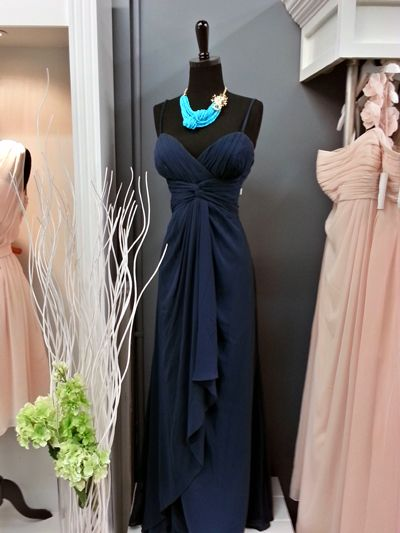Maids Monday: Nautical Bridesmaid Gowns: Bridal and Formal......D'Zage #8056