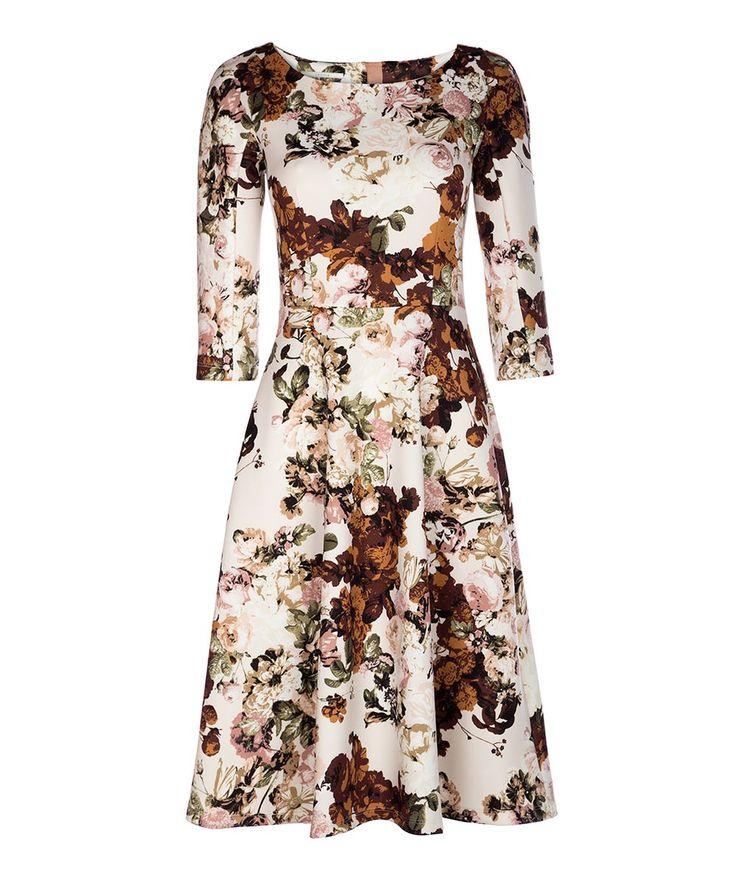 Prachtige jurk om naar een lunch of high tea te dragen! #Vanilia http://www.dressesonly.nl/merken/vanilia.html