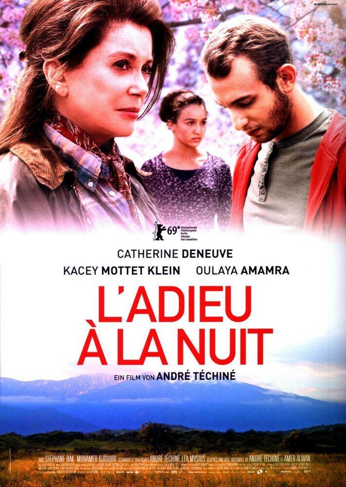 L Adieu A La Nuit Catherine Deneuve Filmposter A4 2019