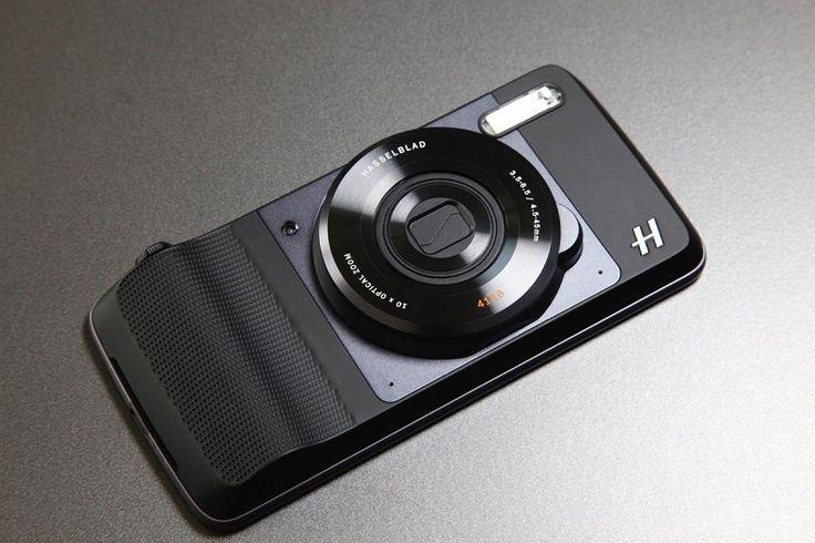 The GEAR - 모토Z용 광학 10배 줌 핫셀블라드 카메라 모듈 공개. 9월 15일 출시