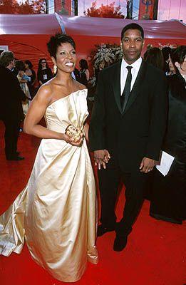 Eddie George Wife Denzel Washington And Wife Morgan