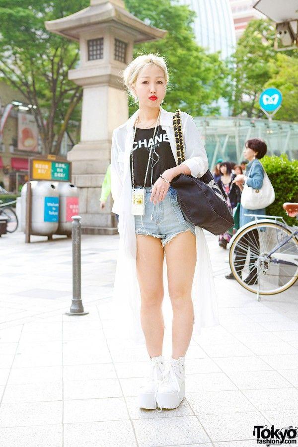 Includes japanese teens blonde