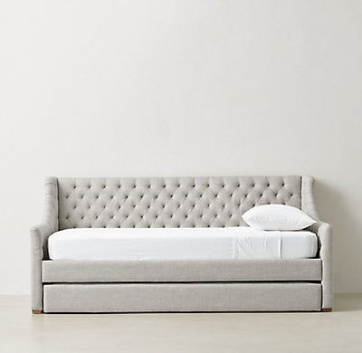 devyn tufted daybed with trundle - Daybed Couch