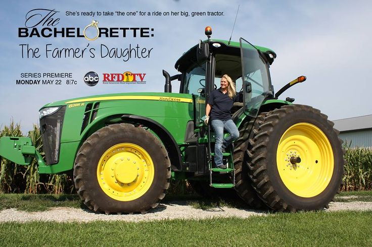 Have you heard? After the overwhelming ratings of season 19 of The Bachelor with farmer Chris Soules of Arlington, Iowa, ABC has created a new series spinoff, The Bachelorette: The Farmer's Daughter. Our very own Sherry Schaefer will be the first featured farmer's daughter on the hunt to harvest a husband. Be sure to tune in to ABC or RFD-TV on Monday, May 22, 8/7c for the series premiere.
