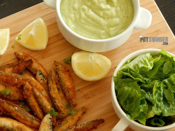 Apróhal ropogós bundában brokkolis burgonyapürével és friss salátával – PotSwinger
