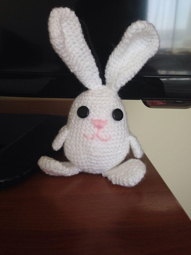Conejo bunny amigurumi chochet $5.000 chilenos