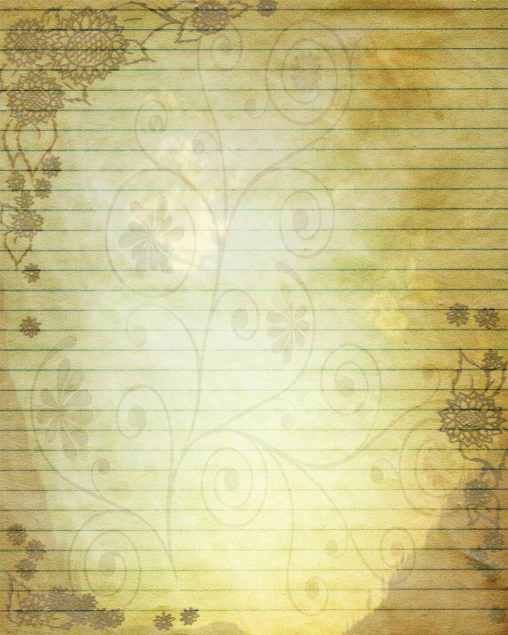 452 best Lined paper images on Pinterest Drawing, Gifts and Leaves - diary paper template