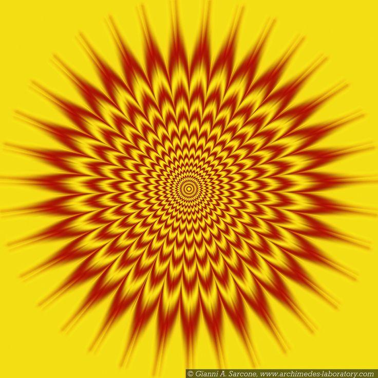 ¿Se mueve? Ilusiones Opticas con Efecto de Movimiento. #IlusionOptica #juegos