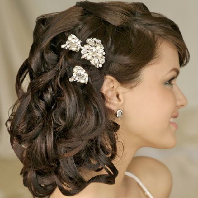 Indian wedding hairstyles for short thin hair