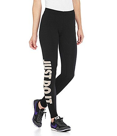 Nike Legasee Workout Leggings Dillards