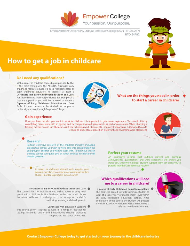 How to get a job in childcare #childcare #job #career #tips