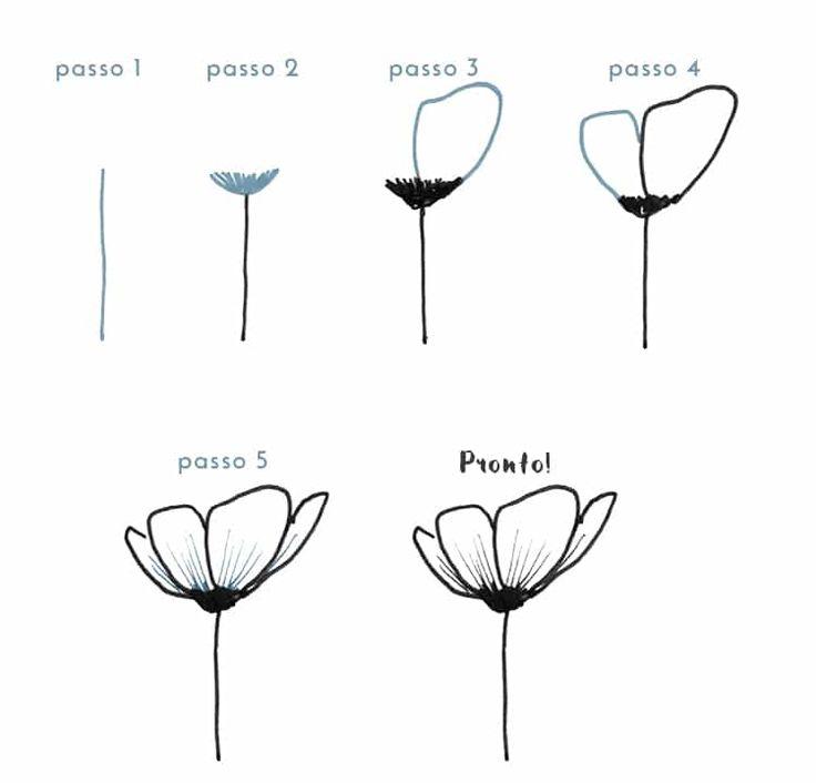 doodle floral 6