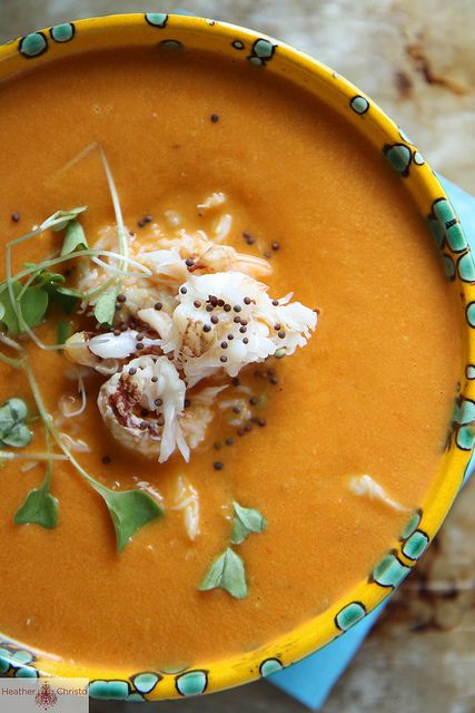 Spicy Tomato and Crab Soup / Heather Christo, via Flickr