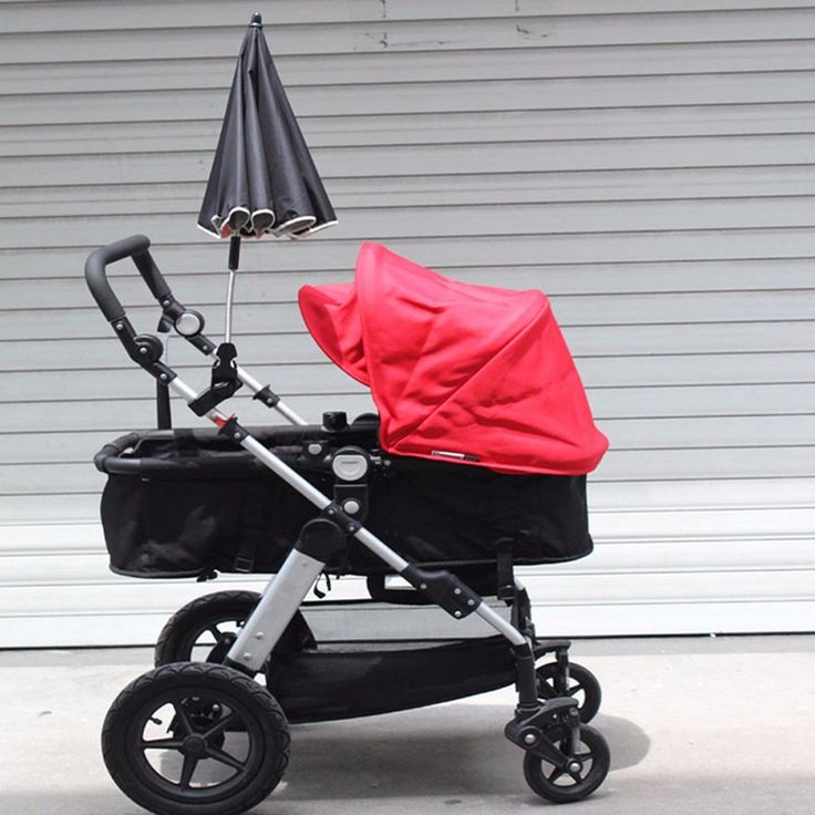 High Quality Sun Protection Baby Stroller Umbrella 6 Colors