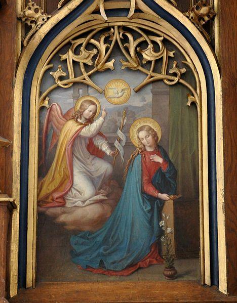 The Annunciation  First Joyful Mystery