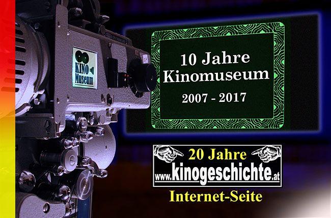 """Seit nunmehr zehn Jahren besteht das Kinomuseum am Lendkanal. Aus diesem Anlass wollen wir auf unsere Anfänge zurückblicken und mit der Sonderschau 2017 über den Beginn der """"Diagonale - Festival des österreichischen Films"""" in Velden informieren."""
