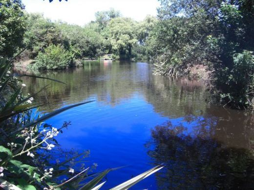 """manmade lakes and streams 