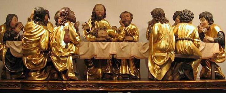 Majster Pavol z Levoče, Posledná večera, kópia plastiky z predely hlavného oltára Chrámu sv. Jakuba v Levoči