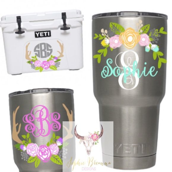 Best  Yeti Cooler Sizes Ideas On Pinterest Silhouette Cameo - Custom car decals houston   how to personalize