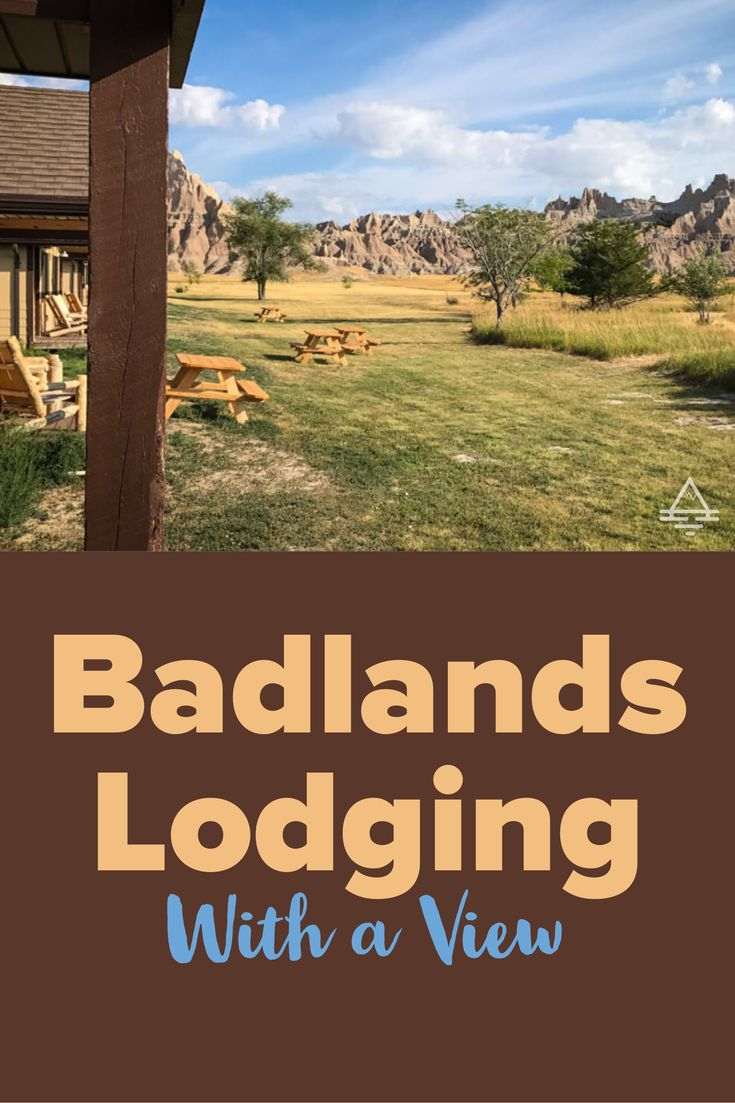 Cedar Pass Lodge in Badlands National Park is an awesome place to stay on your next South Dakota road trip!