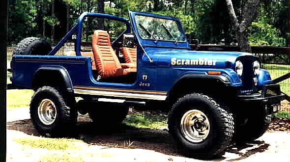 Jeep Scrambler sans top