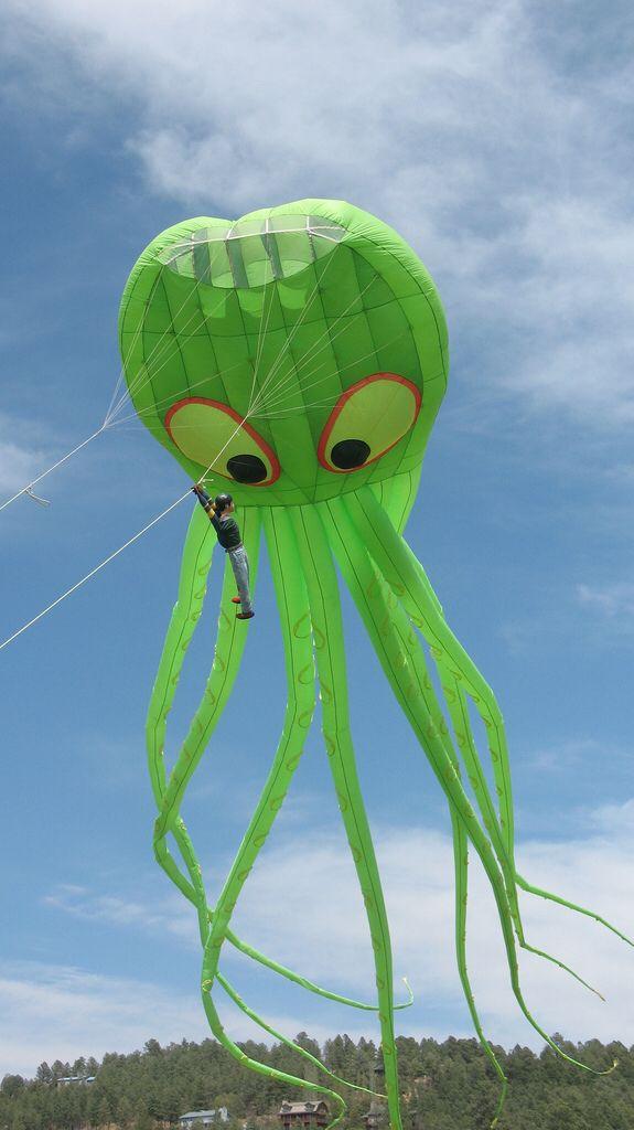 Ruidoso Kite Festival 3 Ollie