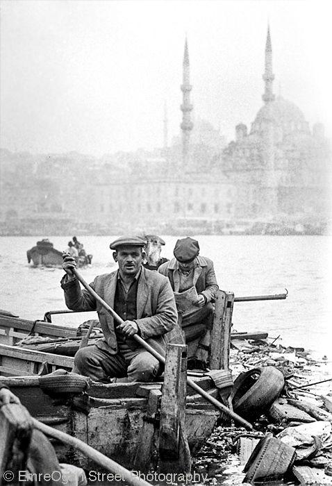 Haliç (Golden Horn) 1974,İstanbul