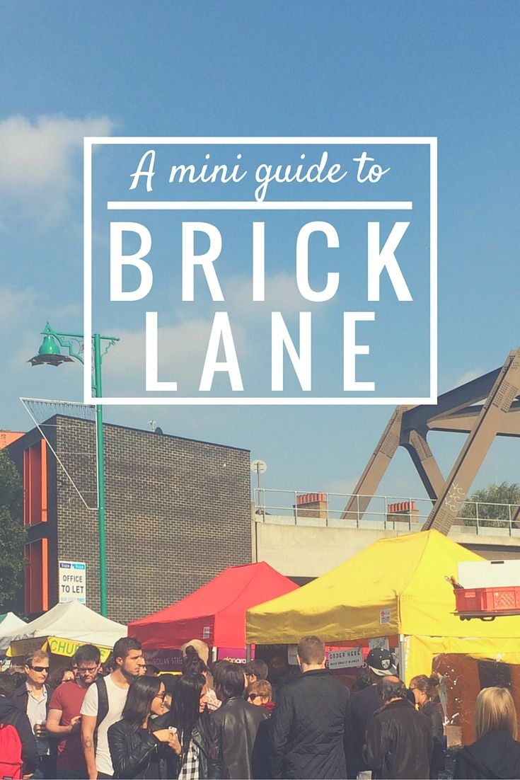 A Mini Guide To Brick Lane | Where to eat, drink, get coffee, spot street art, and shop on Brick Lane, east London