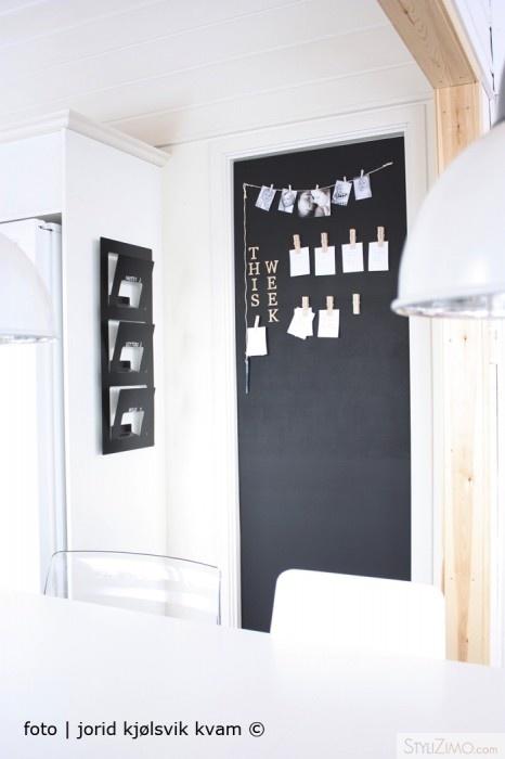 131 besten wandgestaltung mit tafelfarbe bilder auf pinterest rund ums haus spielzimmer - Schiefertafel wand ...