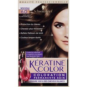 kranove 60 chtain clair subtil coloration permanente soin la boite de 154ml - Coloration Subtil Green