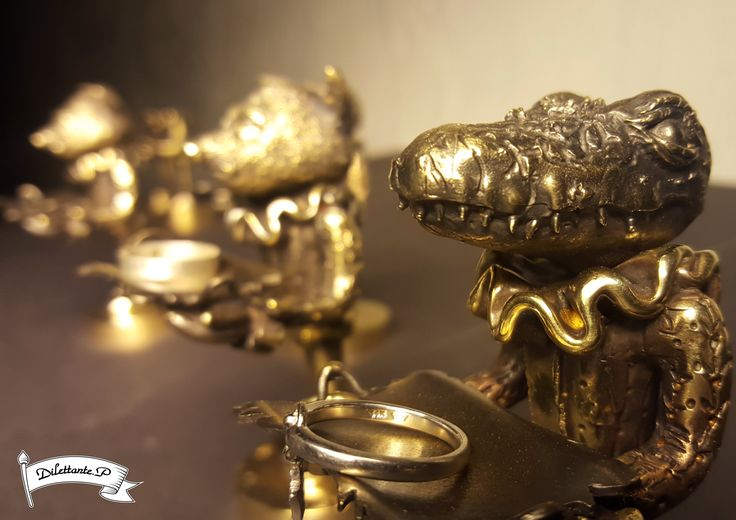 The Ring Keeper 01 #ring #arttoy #figure #keeper #keep #store #craft #storage #jewelry #ornament #support