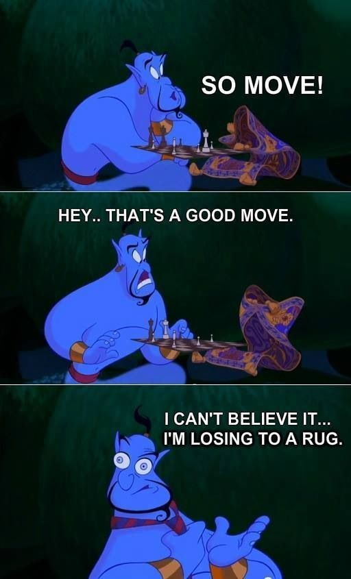 Genie is one of my fave Disney characters.