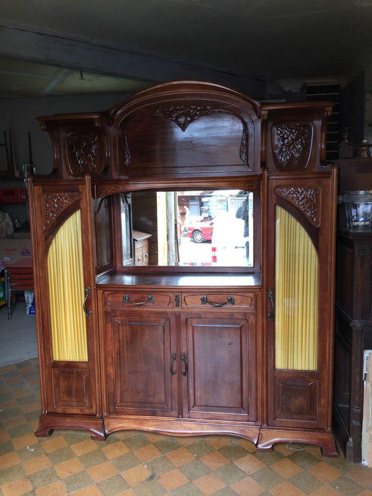 Les 25 meilleures id es de la cat gorie meubles art nouveau sur pinterest mobilier art d co - Meuble art nouveau ...