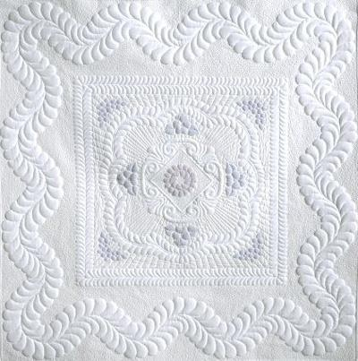 Wholecloth quilting
