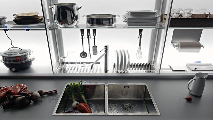 Valcucine New Logica bei Schwab Küchen Salzburg.