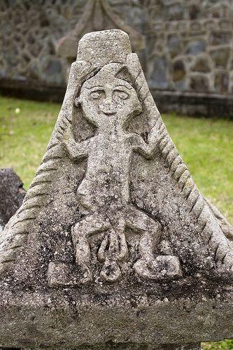 Waruga at Sawangan (the ancient cemetries of Minahasa ancestors)