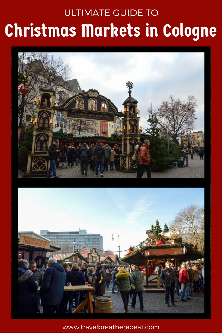 Visit all the Christmas Markets in Cologne, Germany! Plus other tips and recommendations for what to do in Cologne including museums and restaurants.