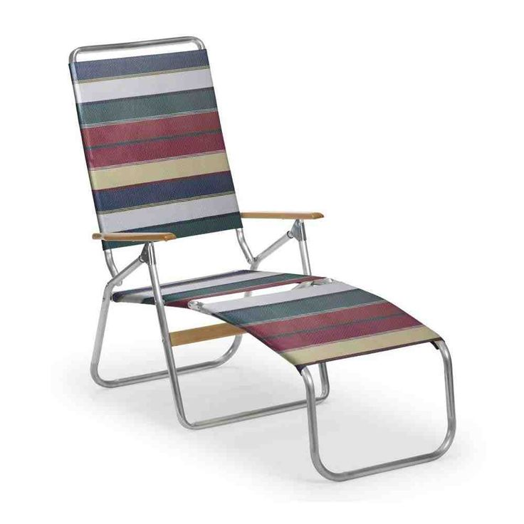 1000 ideas about outdoor folding chairs on pinterest for Beach chaise longue