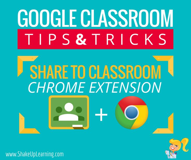 "Google Classroom is designed to help teachers and students communicate and collaborate, manage assignments paperlessly, and stay organized. This robust application is a must for teachers using Google Apps with their students, and allows them to focus more on teaching and less on ""teching."" Google has also created the Share to Classroom Chrome extension that brings, …"