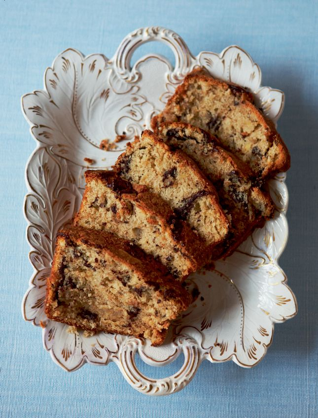 Chocolate and Banana Loaf from The Primrose Bakery Book