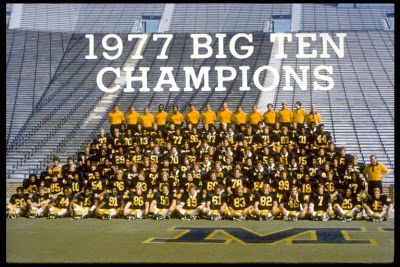 Rose Bowl Roster 1977 | Michigan Football Saturdays: July 2007